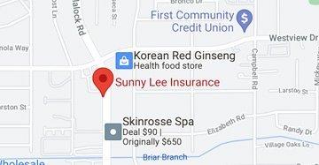 Sunny-Lee Insurance Google Maps